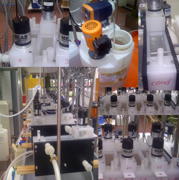 Solvent Extraction Bench Scale Operation